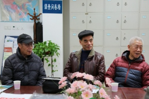 西雅图他山国际副总彭益林先生一行到访中国农村研究院